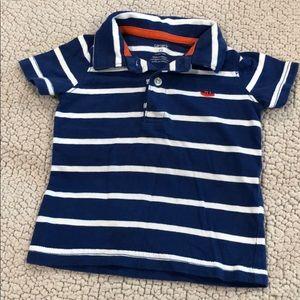 Baby boy short sleeve collared shirt